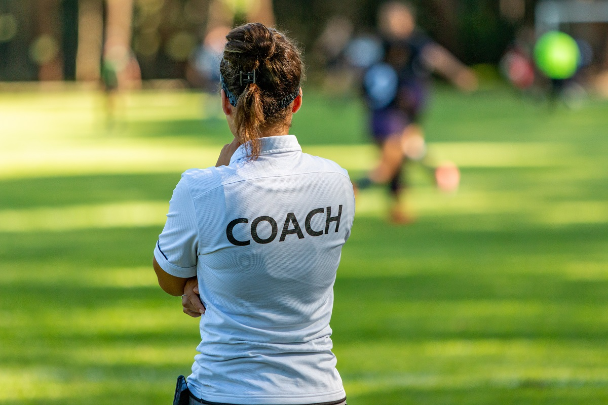 Female coach