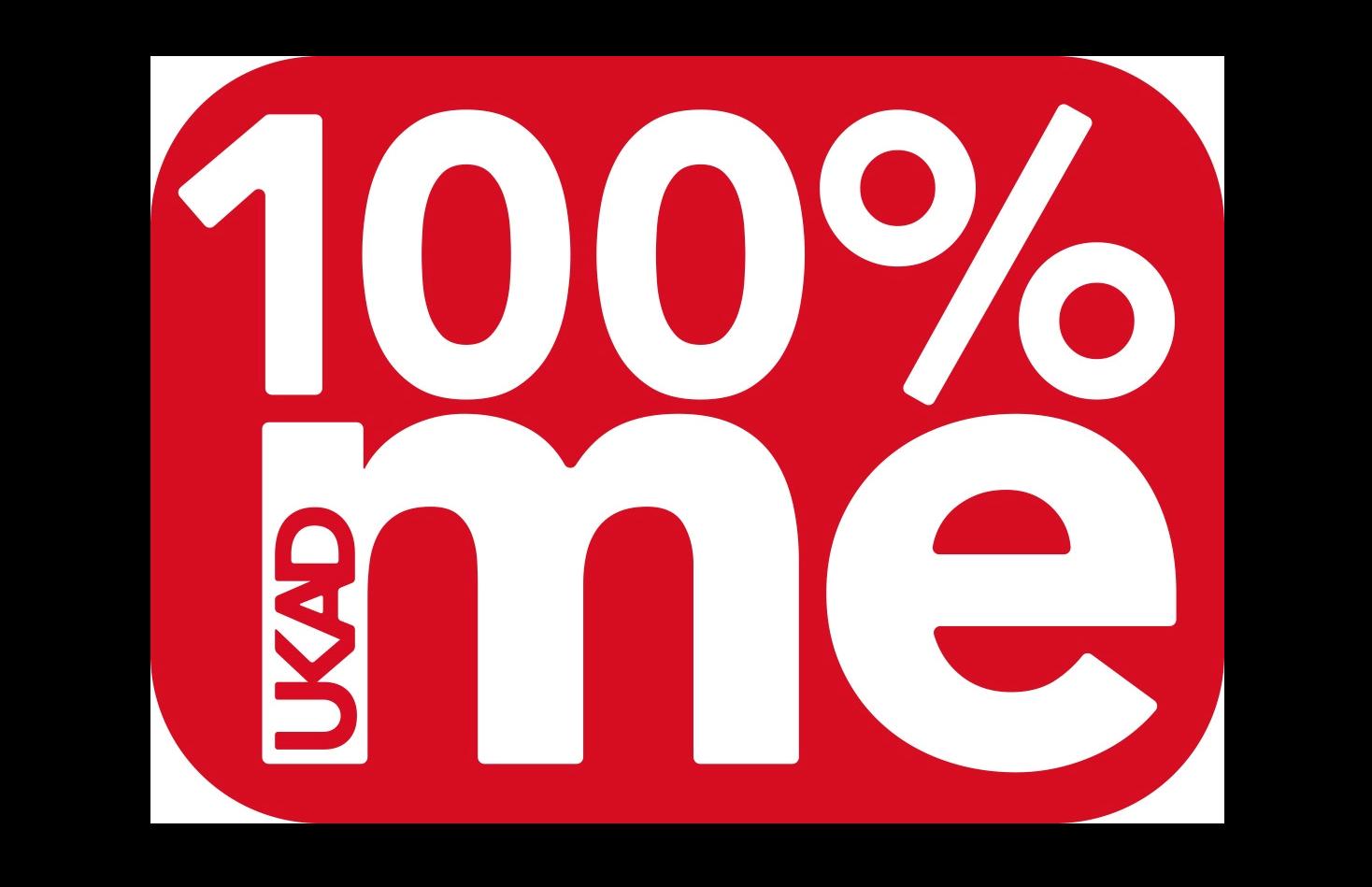 100 me logo - UKAD's education programme