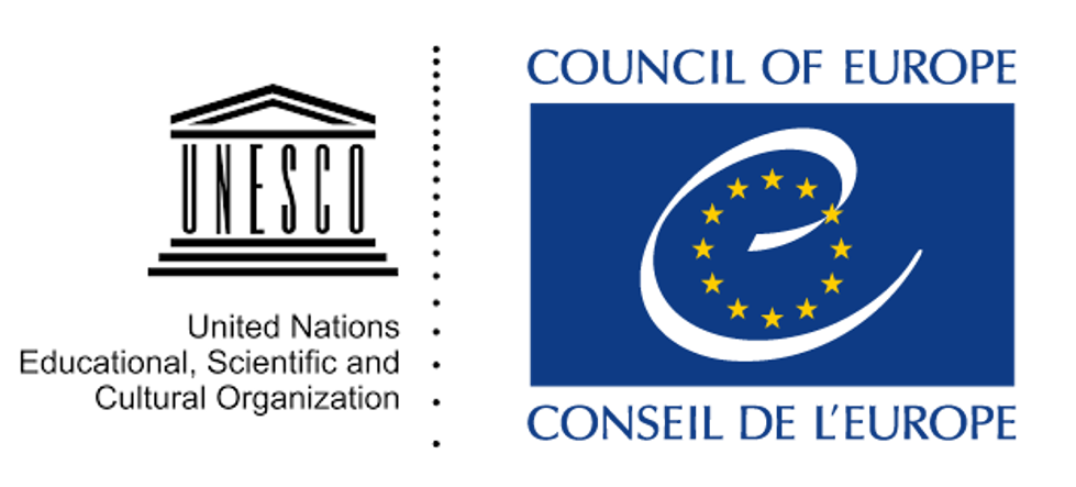 UNESCO and Council of Europe logos
